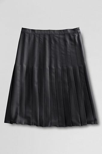 Women's Regular Solid Pleated Skirt $4