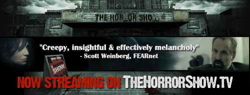 Blog The Horror Show banner