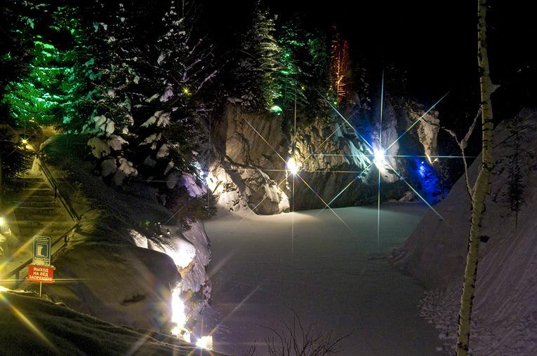 Картинки рускеала зимой