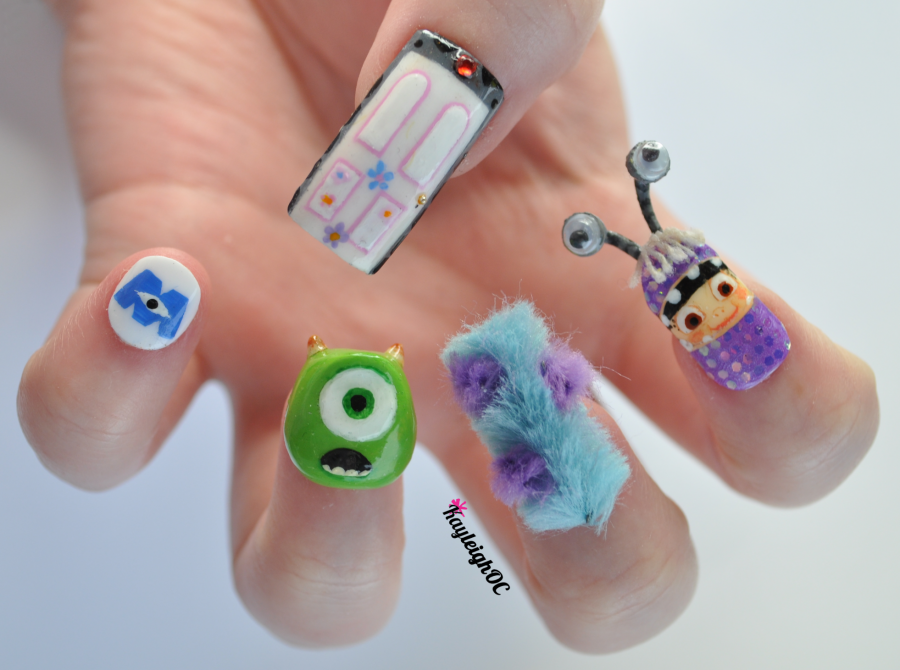 monsters__inc__3d_nail_art_by_kayleighoc-d5r1176