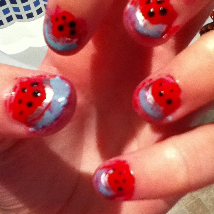 watermelons__d_by_shrimpiliciousnails-d60wbsx
