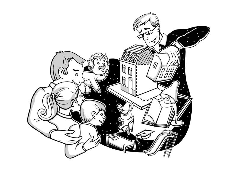 приемным семьям помогут