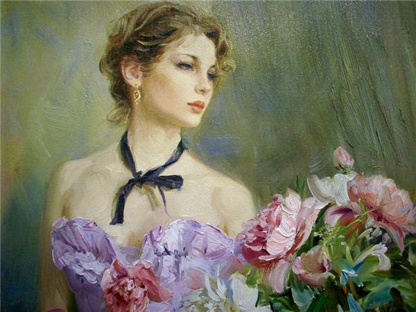 Девушки в живописи современных художников фото 552-227
