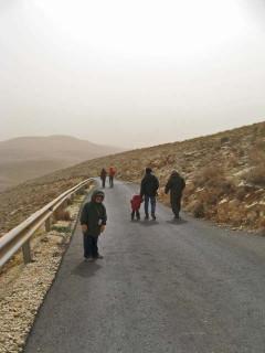 дорога в Маале Рехавам
