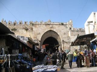 Дамасские ворота,рынок
