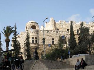 выход из Дамасских ворот
