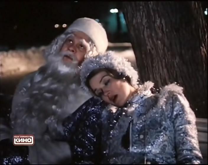 новогодний вечер с дед морозом и снегурочкой.