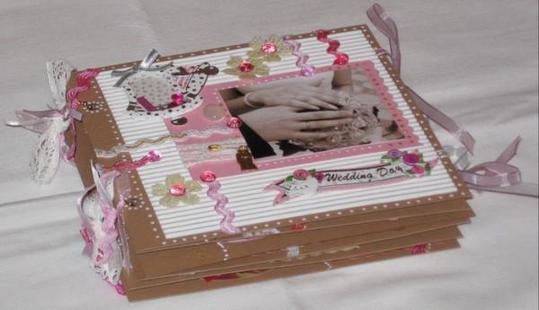 Фотоальбом в подарок на свадьбу