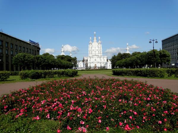Магистратура в СПбГУ или не в СПбГУ вот в чём вопрос stranger  Смольный собор в исторической части города Санкт Петербурга