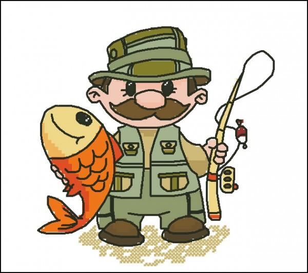 сегодня картинка мультяшная рыбачок марка лучше