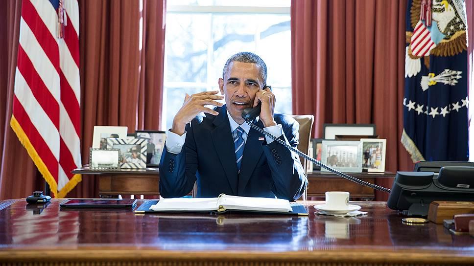 Владимир Путин проинформировал Барака Обаму о выводе войск из Сирии