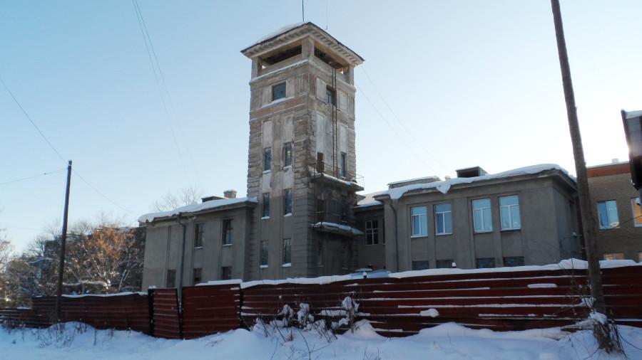 Пожарная часть Калининского района