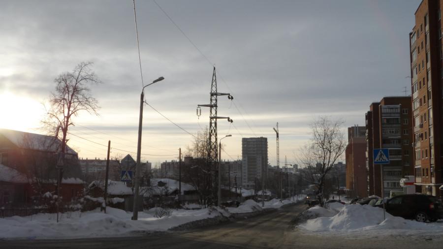 ул. Косарева - вид на юг.