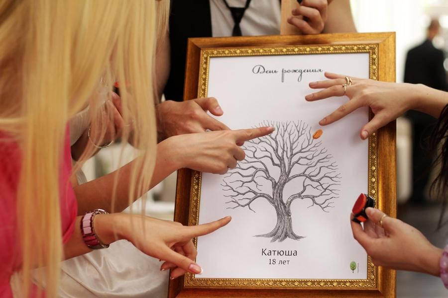 Подарок для отпечатков пальцев