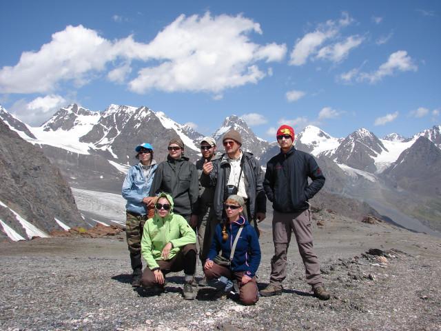 Перевал Иссык-Ата южный