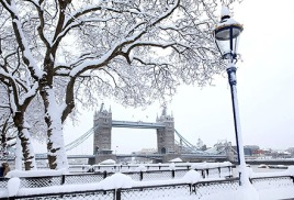лонд зима