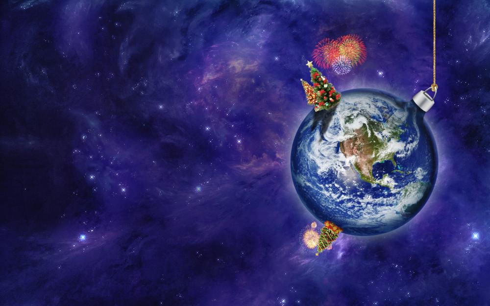 Космический Новый год