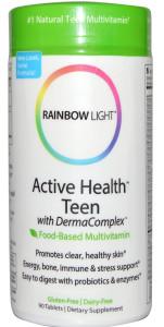 Витамины для подростков с проблемной кожей