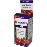 Natrol, Resveratrol, Diet