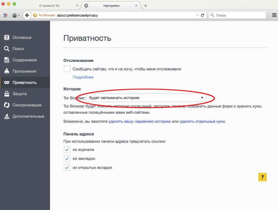 Как посмотреть историю в браузере тор tor browser где хранятся закладки вход на гидру
