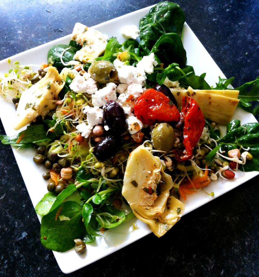 artichoke salad 2