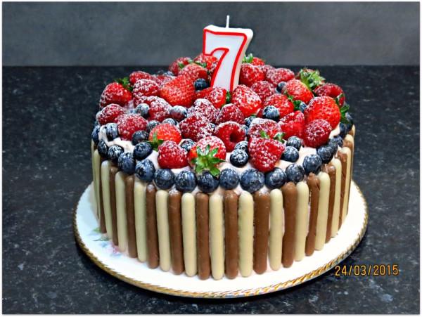 торт своими руками с ягодами рецепт с фото