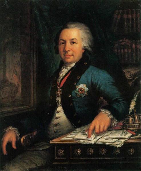 В.Л. Боровиковский. Портрет Г.Р. Державина. 1795