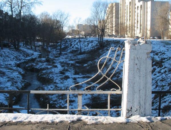 Фото с Замятинского моста 12 декабря 2012 г.