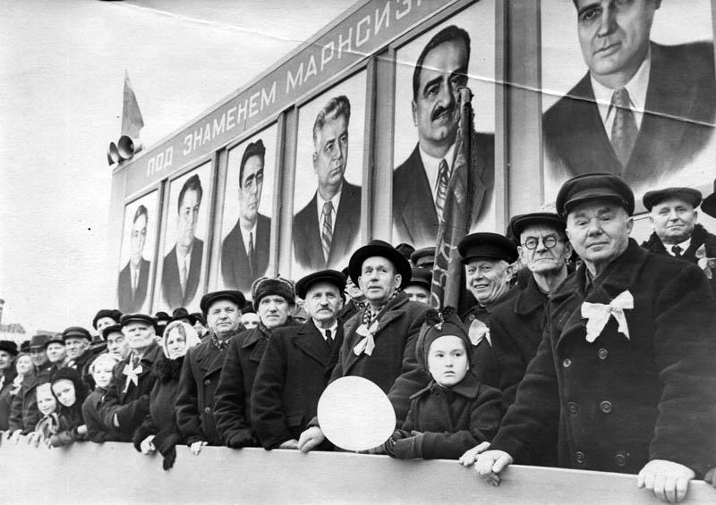 Тамбов. Ленинская площадь. Фото 1950-х гг.