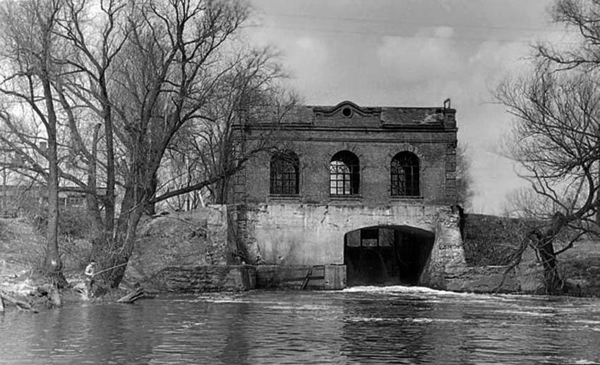 Гидра на Цне близ Тамбова. Фото 1950-х гг.