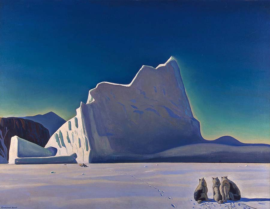 Рокуэлл Кент. Охотники на тюленей. Северная Гренландия