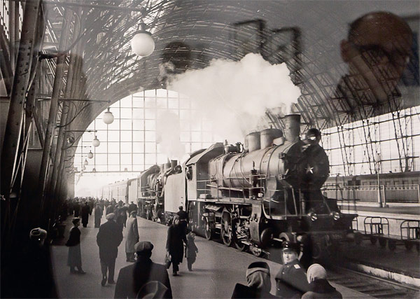 Киевский вокзал. Фото Г. Корабельникова 1952 г.