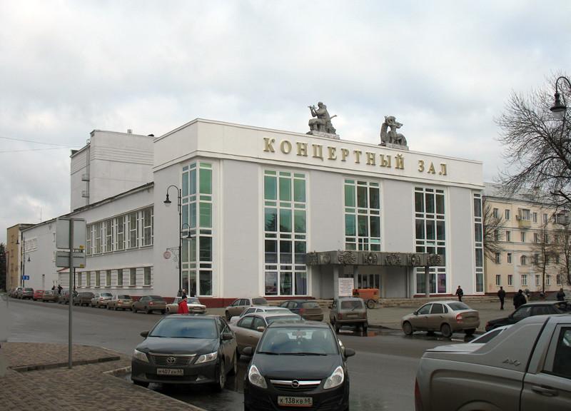 В.Г. Самородов. Здание концертного зала в Тамбове. Фото 16 ноября 2012 г.