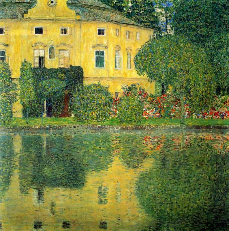 Г. Климт. Schloss Kammer am Attersee. 1910