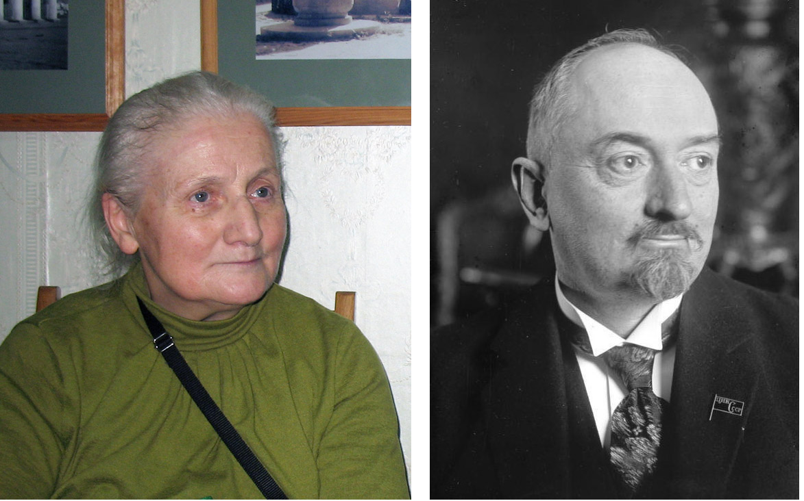Чичерины Наталья Дмитриевна (фото 20 ноября 2012 г.) и Георгий Васильевич (фото 1920-х гг.)