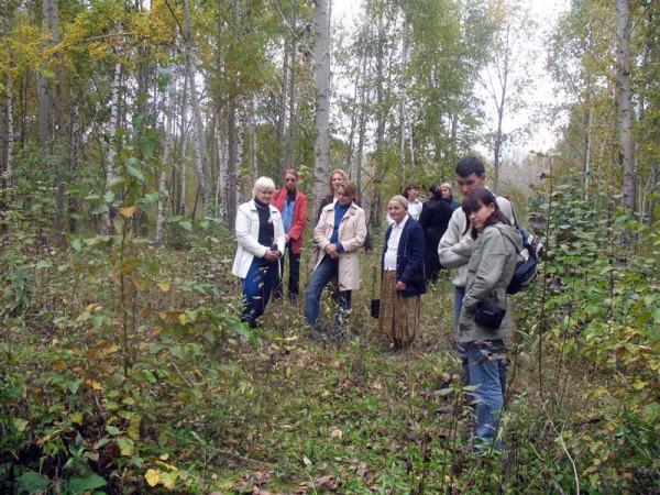 По местам усадеб Боратынских и Чичериных. Фото 24 сентября 2006 г.