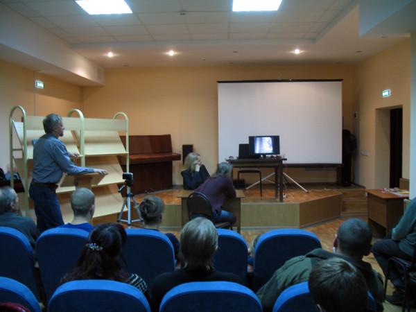 Встреча в Тамбовском славянском обществе 25 ноября 2012 года