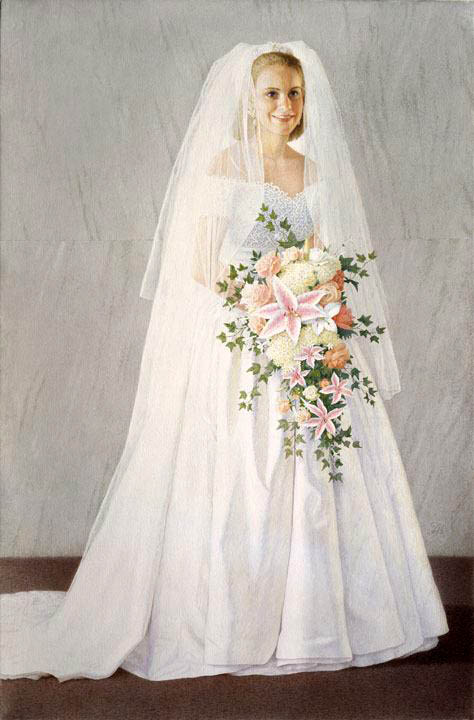 9 А. Мухин-Чебоксарский. Невеста. Б., акв. 43х28