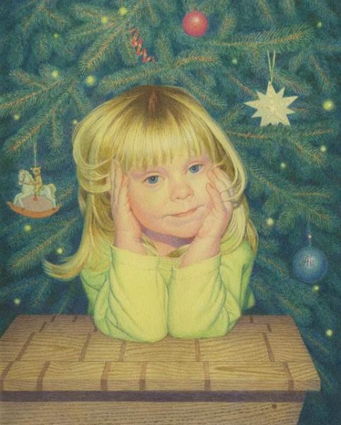 3 А. Мухин-Чебоксарский.  Рождественская сказка. Б., акв. 17х14