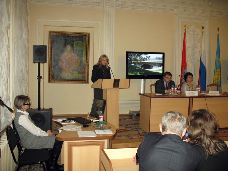 Выступление на городской конференции 30 ноября 2012 г.