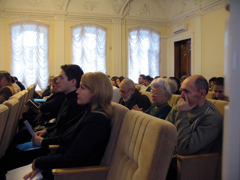 На городской конференции 30 ноября 2012 г.