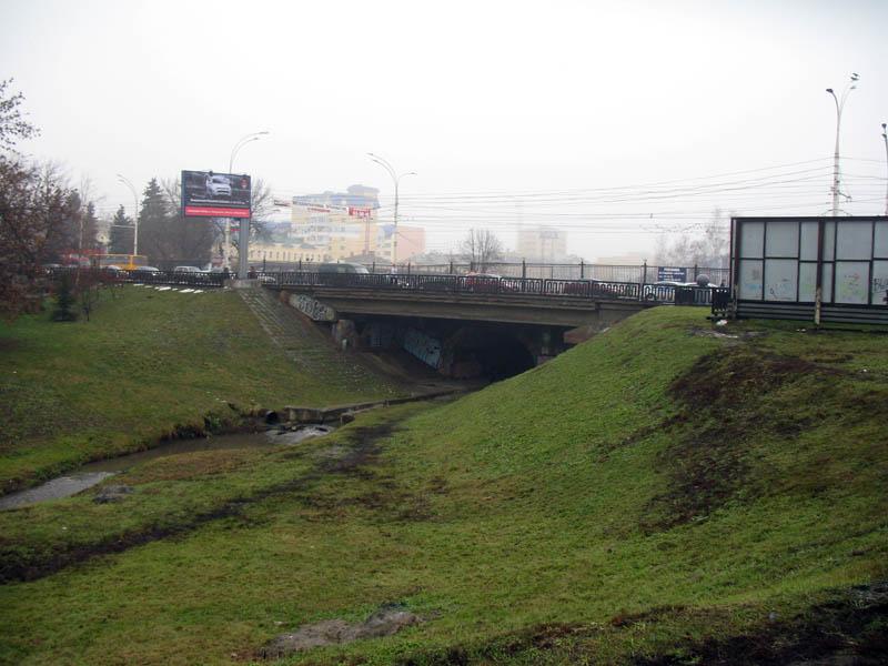 Студенецкий мост в Тамбове. Фото 2012 г.