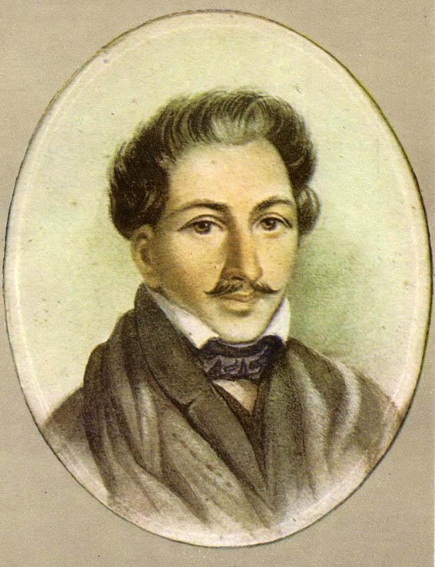 Неизвестный художник. Портрет П. Каховского. Начало 1820-х годов