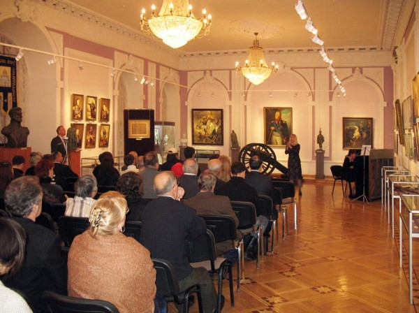 Презентация сборника стихов О. Алёшина. 30 ноября 2012 г.