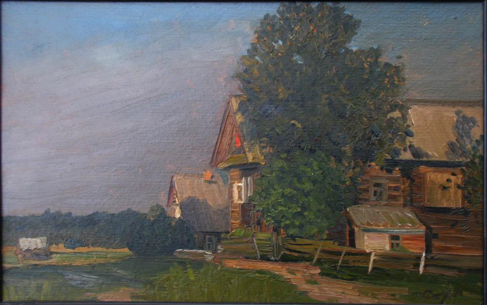В.Н. Страхов. Этюд. 1990