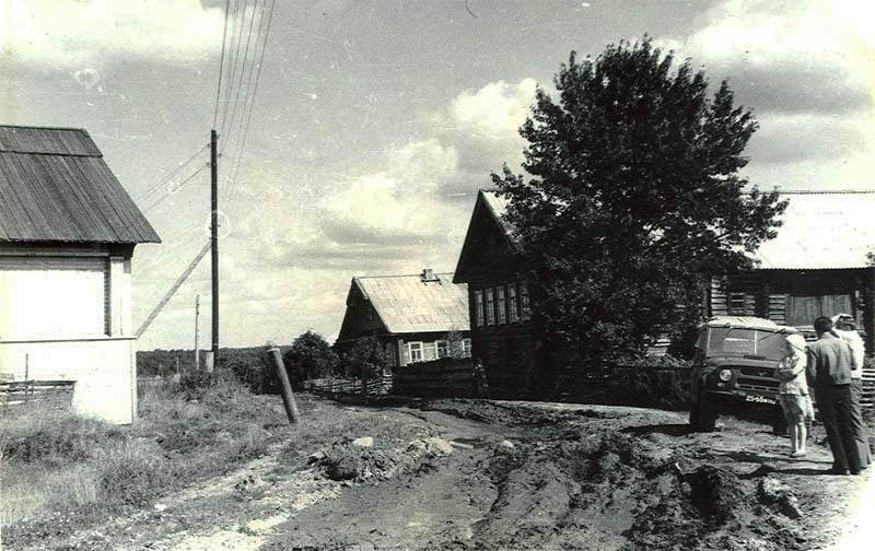 Деревня Тимониха. Фото  А. Заболоцкого