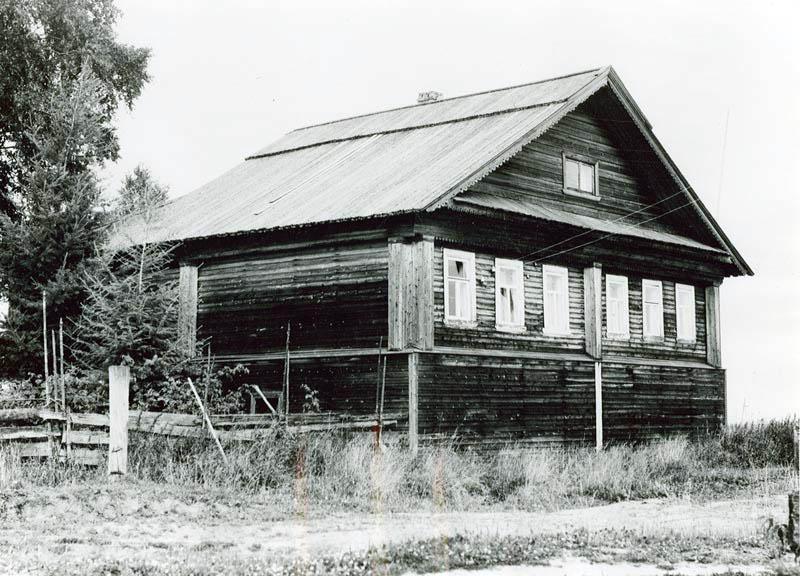 Дом Беловых в Тимонихе. Фото А. Заболоцкого