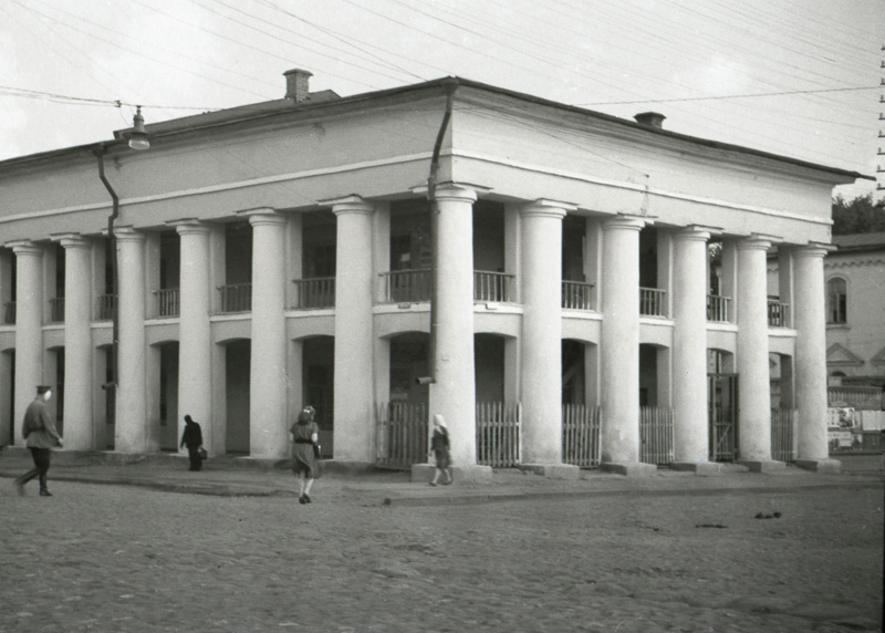 Гостиный двор в Тамбове. Фото начала 1950-х гг.