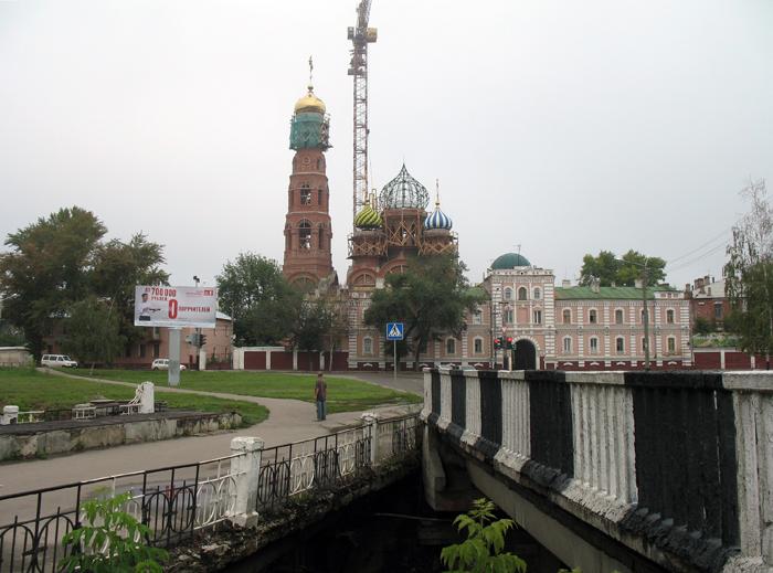 Замятинский мост. Фото 19 августа 2012 г.