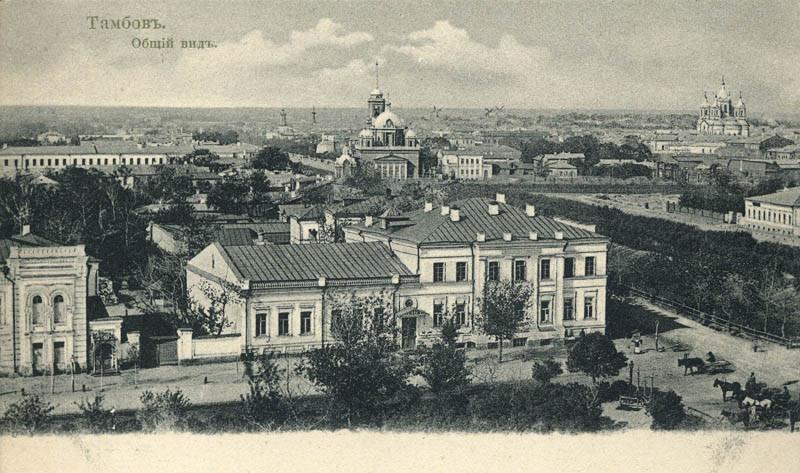 О концепции города: Тамбов державинский.